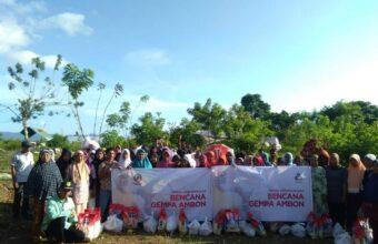 Sinergi PZU & Zakatel Distribusikan Bantuan untuk 4 Desa Dampak Gempa Ambon